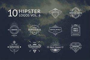 10 Hipster Logos Vol. 6