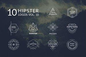 10 Hipster Logos Vol. 10