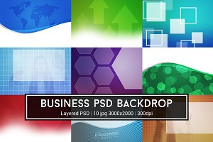Business PSD Backdrop