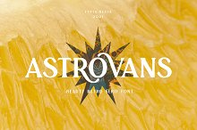 Astrovans Retro by  in Fonts