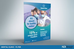 Dental Clinic - Flyer - SK
