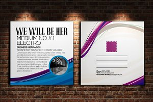 Business Corporate Post Card