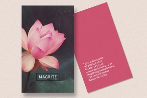 Business Card - Lotus Blossom