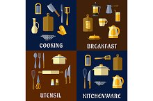 Cooking utensil and kitchenware