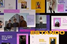 Estando Urban Google Slide by  in Presentations