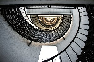 Spiral Staircase Lighthouse