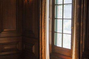 Sun Through Estate Window (Photo)