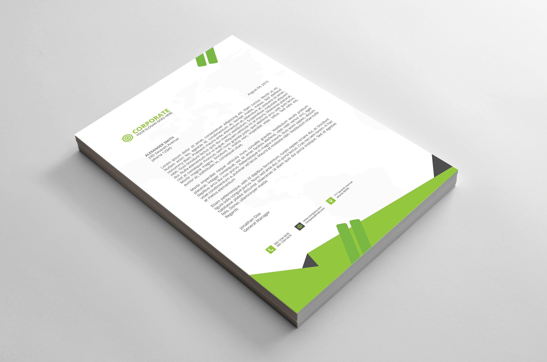 letterhead stationery templates creative market