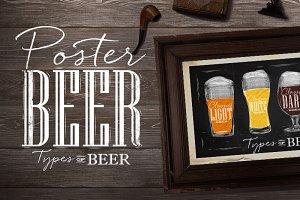 Set Poster Beer