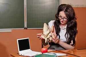 Teacher anatomy.