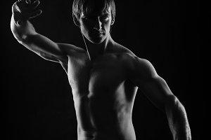 Martial Arts. Kung Fu kata