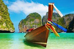 Tropical beach,