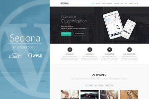 Sedona - Creative Multipurpose Theme