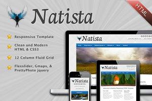 Natista - Responsive HTML Template