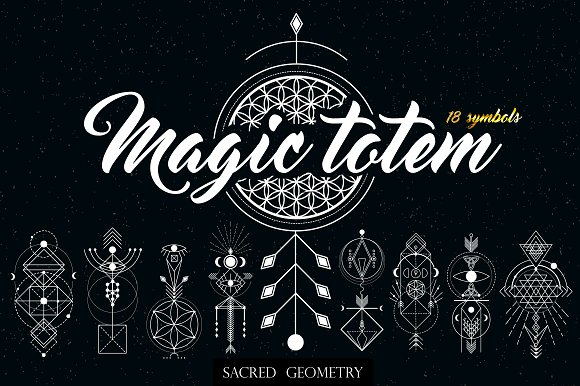 Sacred  Geometry. Magic totem
