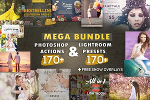 Mega Photoshop+Lightroom Bundle