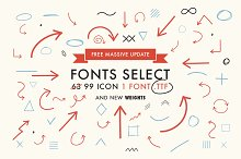 Font Select ICON - Massive update !
