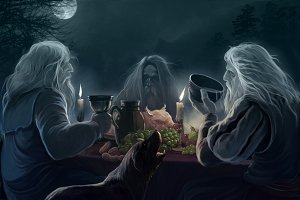 Ghost supper