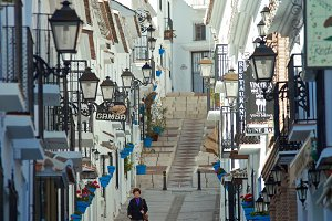 Streets of Mijas, Spain