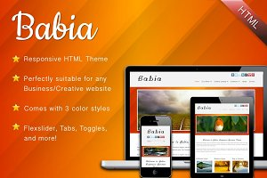 Babia - Responsive HTML Template