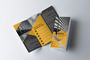 Corporate strategy Tri Fold Brochure