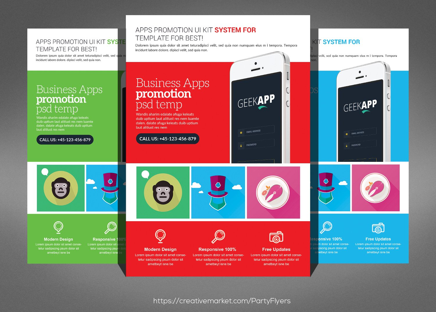 Mobile Computer Repair Flyer Flyer Templates Creative Market – Computer Repair Flyer Template