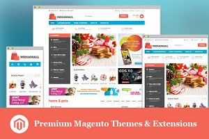 MegaMall - Magento for Supermarket