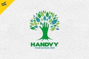 Handvy Logo Template