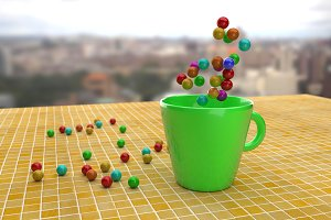 Cup and balls