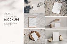 Beige Summer  mockups & photos by  in Mockups