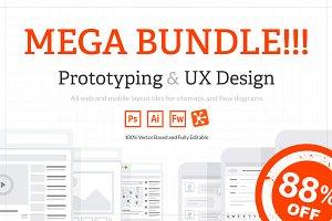 [MEGA BUNDLE] UX Web & Mobile Tile