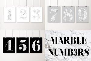 Marble numbers