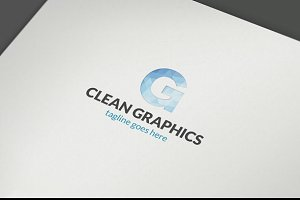 Clear Letter G Graphical Logo