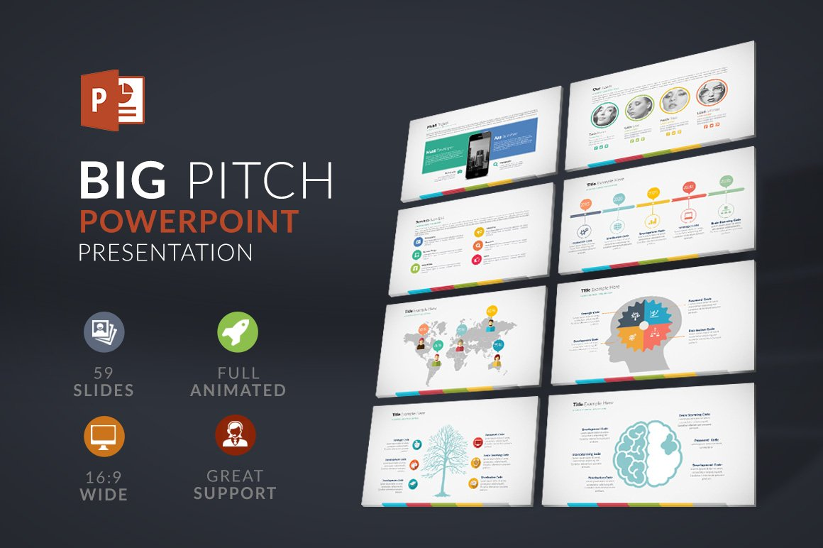 Big pitch powerpoint presentation presentation templates big pitch powerpoint presentation presentation templates creative market toneelgroepblik