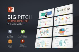Big Pitch | Powerpoint Presentation