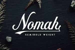 Nomah Semibold + Bonus