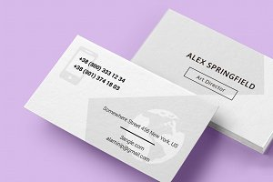 Business Card - Springfield