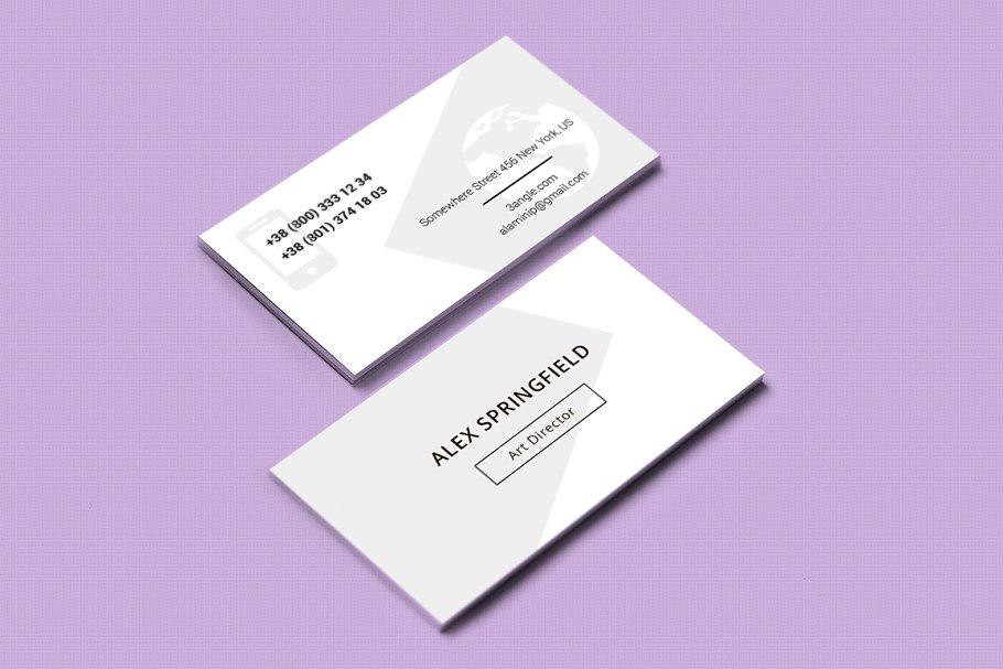 Business Card - Springfield
