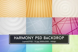 Harmony PSD Backdrop