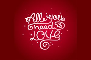 All You Need is Love Background