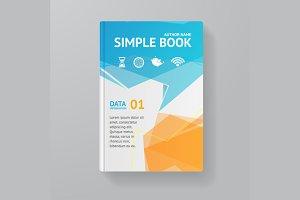Book Template. Vector