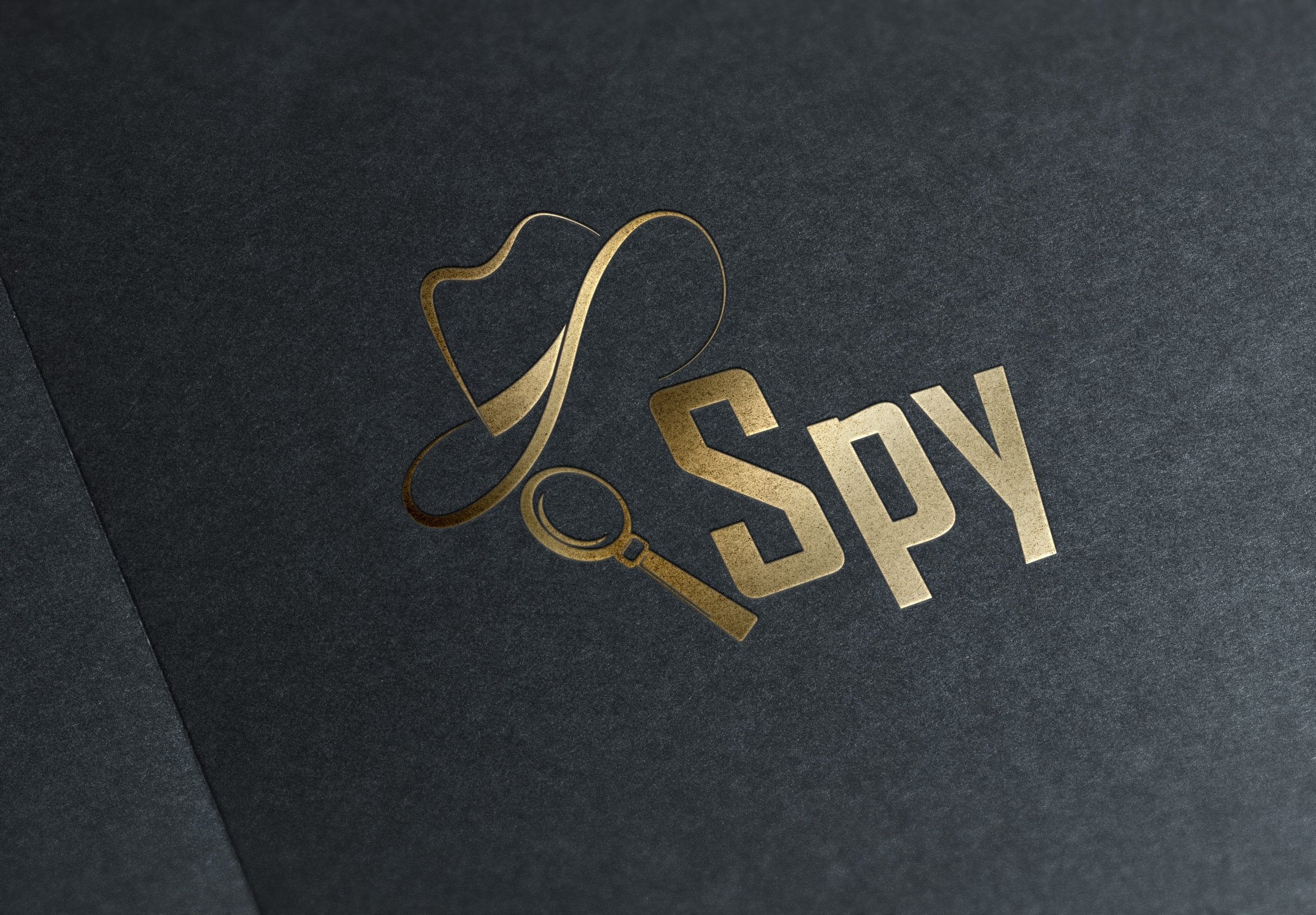 spy logo creative illustrator templates creative market spy logo creative illustrator