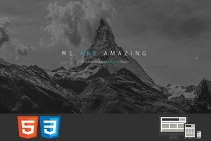 Capital One/MultiPage HTML Template