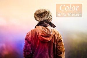 50 Color Lr Presets