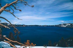 Landscape Of Diamond Lake Oregon