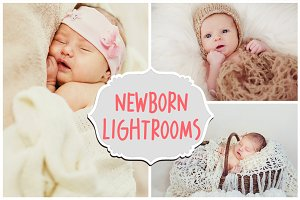 30 Newborn Lightroom Presets