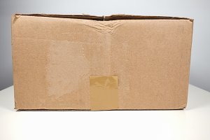 Brown packet parcel