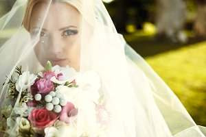 Enigmatic bride