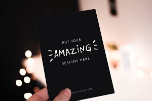 10 Mockups for Postcards & Bonus