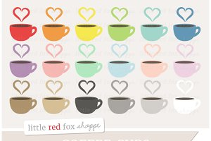 Coffee Cup Clipart Graphics